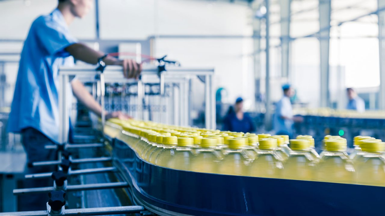 Supply Chain Planning for the food & beverage industry - bottling line -Optimity Software